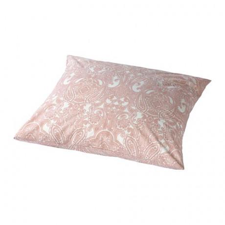 Наволочка ЙЭТТЕВАЛЛМО белый, розовый фото 5